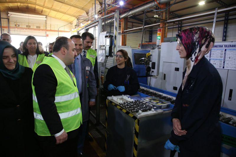 Sanayi ve Teknoloji Bakanımız Mustafa Varank'ın ESTAŞ Ziyareti